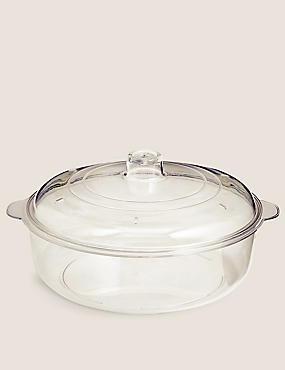 1.25 Litre Lidded Casserole Dish, , catlanding