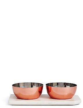 Chef Copper Marble Pinch Pots, , catlanding