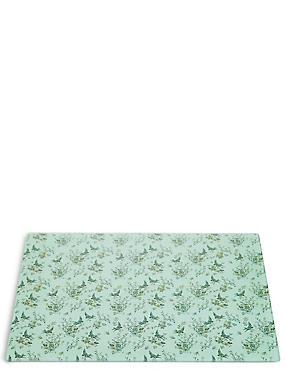 Dovecote– Planche à découper fleurie en verre, , catlanding