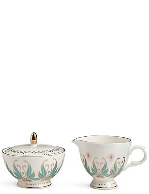Hollywood Deco Sugar Creamer, , catlanding