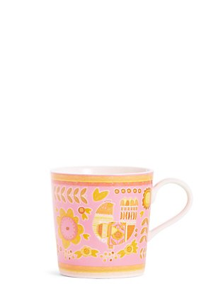Pink Hen Mug, , catlanding