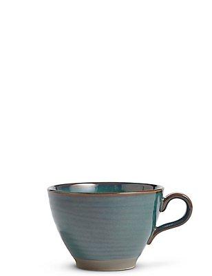 Reactive Blue Mug, GREEN MIX, catlanding