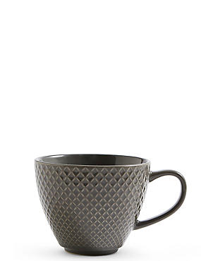 Textured Charcoal Mug, , catlanding