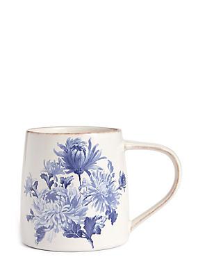 Jumbo Floral Antique Mug, , catlanding