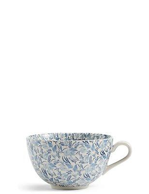 Leaf Floral Mug, , catlanding