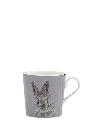 Digital Bunny Print Mug, , catlanding