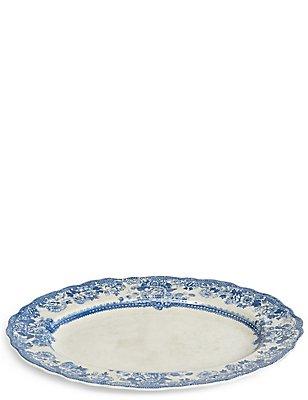 Dovecote Melamine Oval Platter, , catlanding