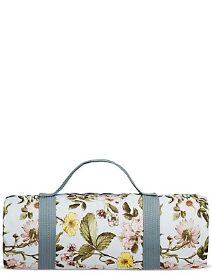 Dovecote Floral Picnic Blanket, , catlanding