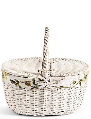 Dovecote Floral Dorothy Basket, , catlanding