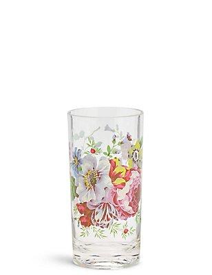 Floral Print Picnic Hi Ball Glass, , catlanding