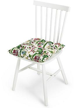 Frida– Coussin de chaise à motif perroquet, , catlanding
