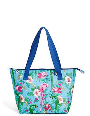 Frida Floral Shopper Bag, , catlanding