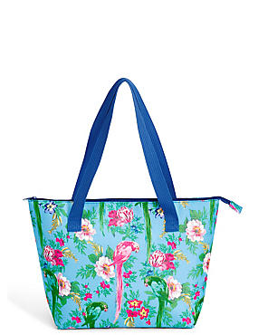 Frida Floral Shopper Bag, , catlanding