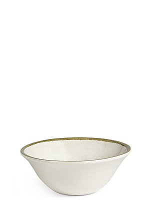 Crackle Effect Melamine Bowl, , catlanding