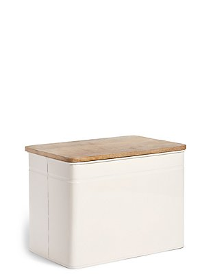 Powder Coated Storage Bread Bin, , catlanding