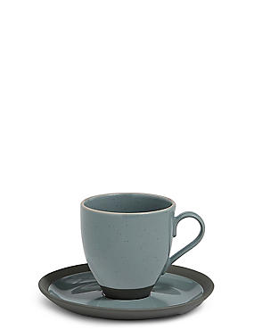 Bistro Blue Cup & Saucer, , catlanding