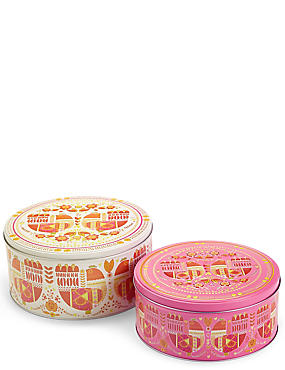 Marigold– Lot de 2boîtes à gâteau, , catlanding