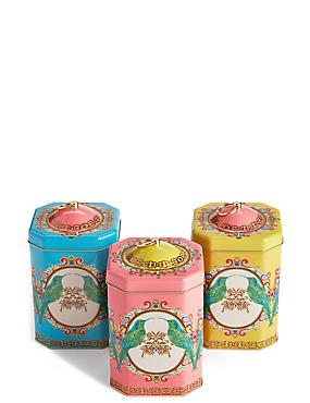 3er-Set Tee-, Kaffee- und Zuckerdosen im Frida-Design, , catlanding