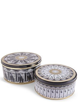 Set of 2 Manhattan Cake Tins, , catlanding