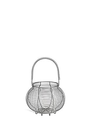 Wire Egg Basket, , catlanding
