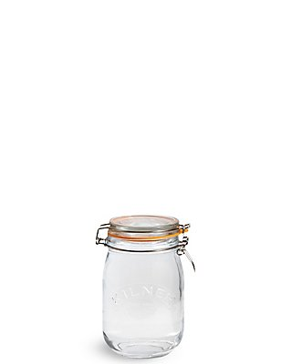 Medium Glass  Kilner Jar, , catlanding