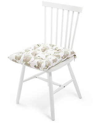 Hens Print Seat Pad, , catlanding