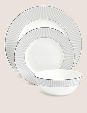 12 Piece Hampton Dinner Set, , catlanding