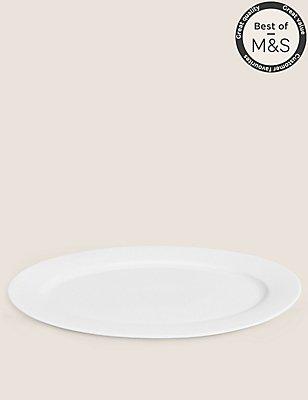 Maxim Oval Platter, , catlanding