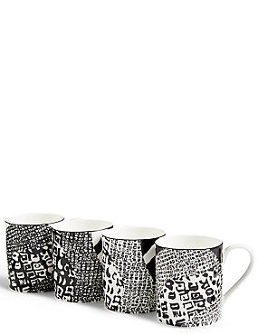 4 Pack Sue Timney Camouflage Mugs, , catlanding