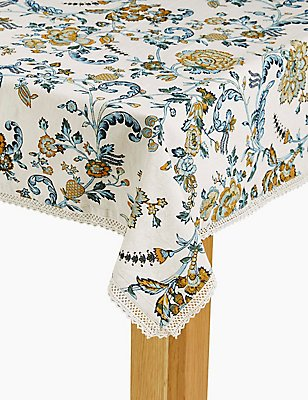 Ardingly Floral Tablecloth, , catlanding