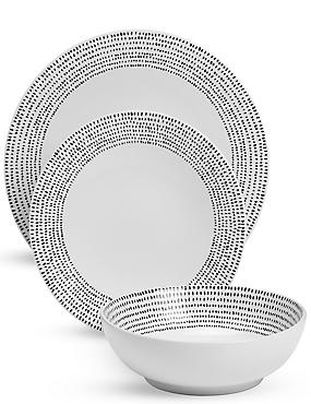 12 Piece Lombard Dinner Set  sc 1 st  Marks \u0026 Spencer & Dinner Sets | Dinner Plate Sets \u0026 China Dinner Sets | M\u0026S