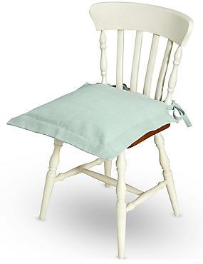 Plain Seat Pad, DUCK EGG, catlanding