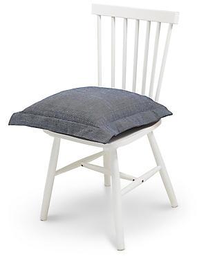 Plain Seat Pad, INDIGO, catlanding