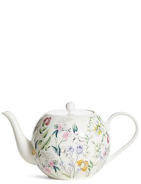 Spring Blooms Teapot, , catlanding