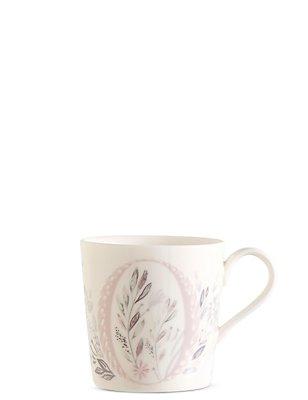 Floral Alphabet O Mug, , catlanding