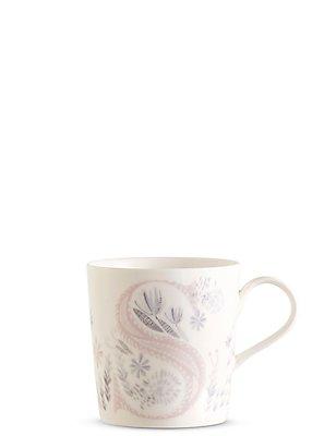 Floral Alphabet S Mug, , catlanding