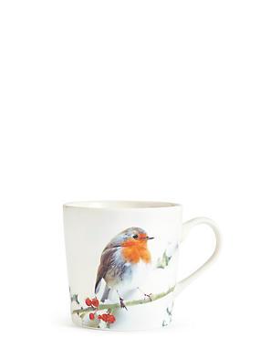 Robin Digital Print Mug, , catlanding