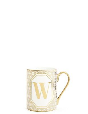 Alphabet W Mug, , catlanding