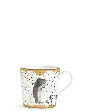 Virgo Zodiac Mug, , catlanding