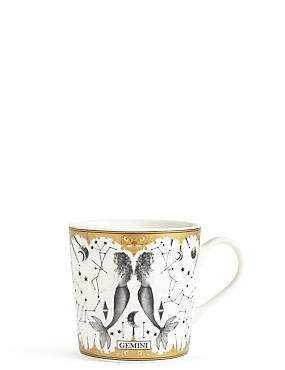 Gemini Zodiac Mug, , catlanding