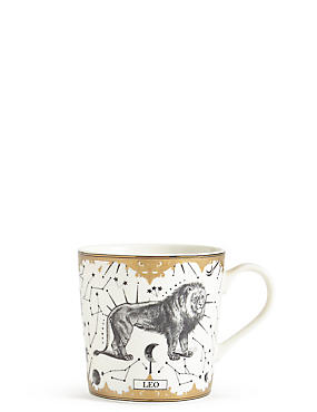 Leo Zodiac Mug, , catlanding
