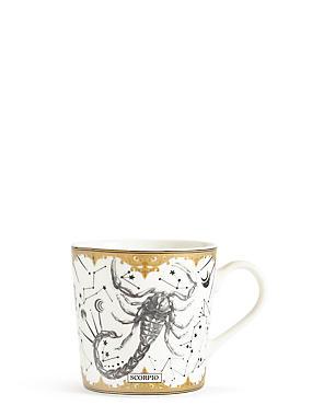 Scorpio Zodiac Mug, , catlanding