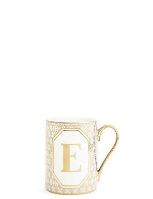 Alphabet E Mug, , catlanding
