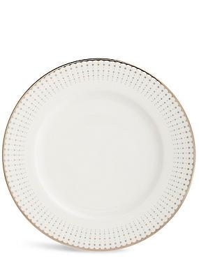 Platinum Decorated Dinner Plate, , catlanding