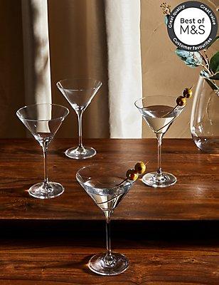 4 Maxim Martini Glasses, , catlanding