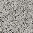 Pure Cotton Floral Lace Runner, CHARCOAL, swatch