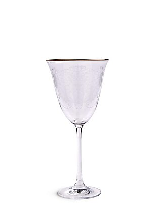 Set of 4 Melody Wine Glasses, , catlanding
