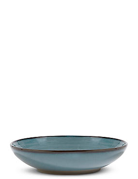 Retreat Pasta Bowl, BLUE/GREEN, catlanding