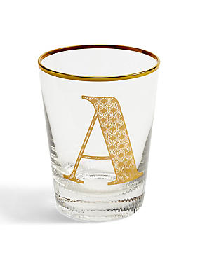 Alphabet A Glass, , catlanding