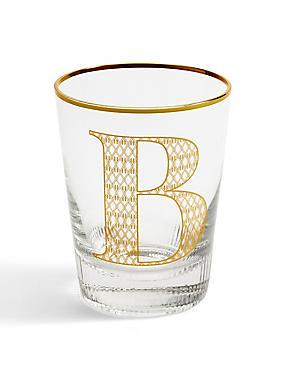 Alphabet B Glass, , catlanding
